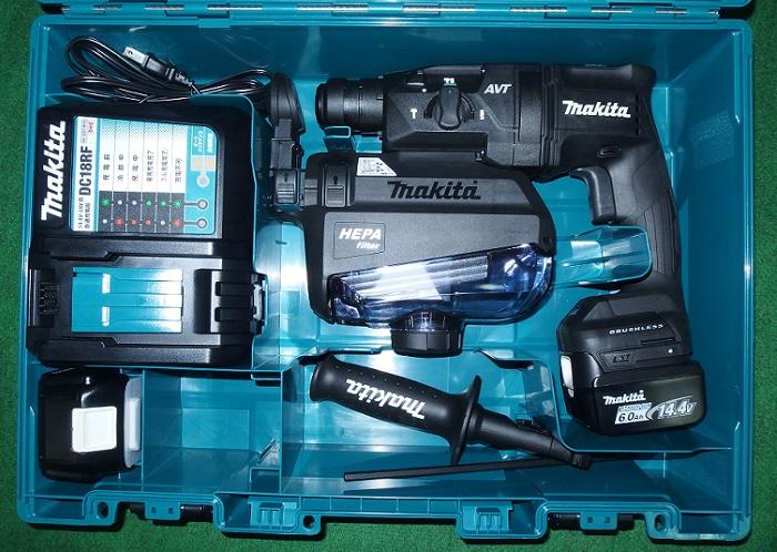マキタ HR181DGXVB 14.4V-6.0Ah-18mm 無線連動対応 吸塵ハンマドリル 黒 新品