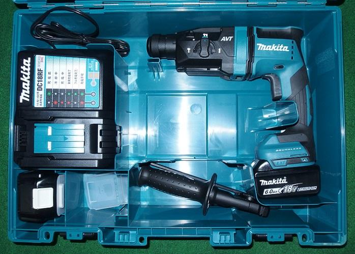 マキタ HR182DRGX 18V-6.0Ah-18mm 無線連動対応 SDSハンマドリル 青 新品