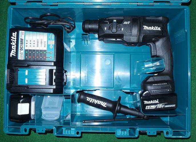 マキタ HR182DRGXB 18V-6.0Ah-18mm 無線連動対応 SDSハンマドリル 黒 新品