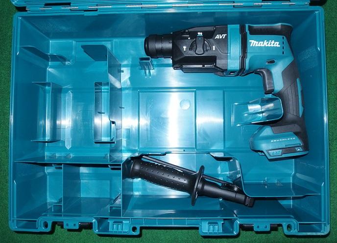 マキタ HR181DZK 14.4V-18mm 無線連動対応 SDSハンマドリル 本体+ケ-ス バッテリ・充電器 青 新品