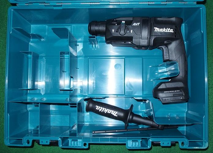 マキタ HR181DZKB 14.4V-18mm 無線連動対応 SDSハンマドリル 本体+ケ-ス バッテリ・充電器 黒 新品