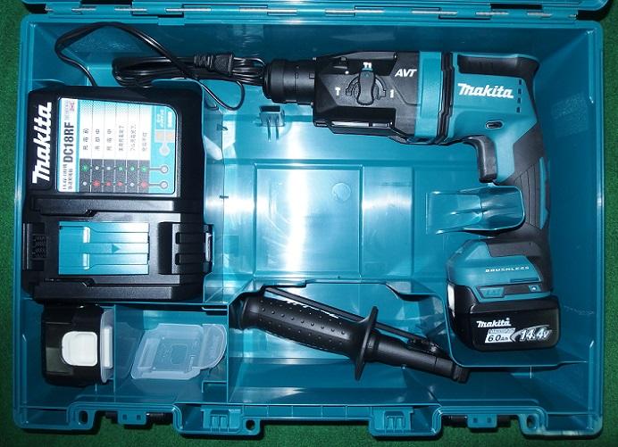 マキタ HR181DRGX 14.4V-6.0Ah-18mm 無線連動対応 SDSハンマドリル 青 新品