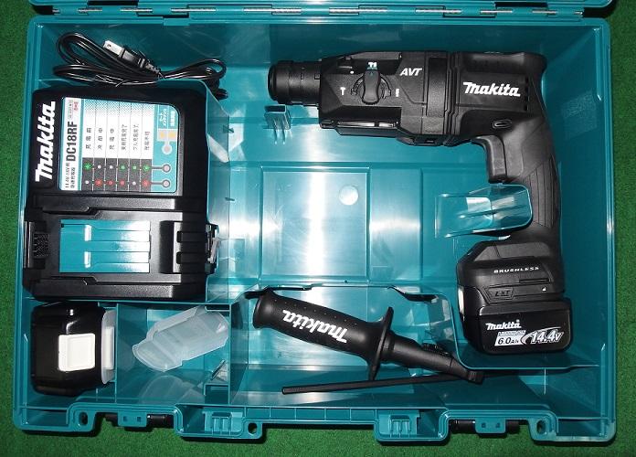 マキタ HR181DRGXB 14.4V-6.0Ah-18mm 無線連動対応 SDSハンマドリル 青 新品