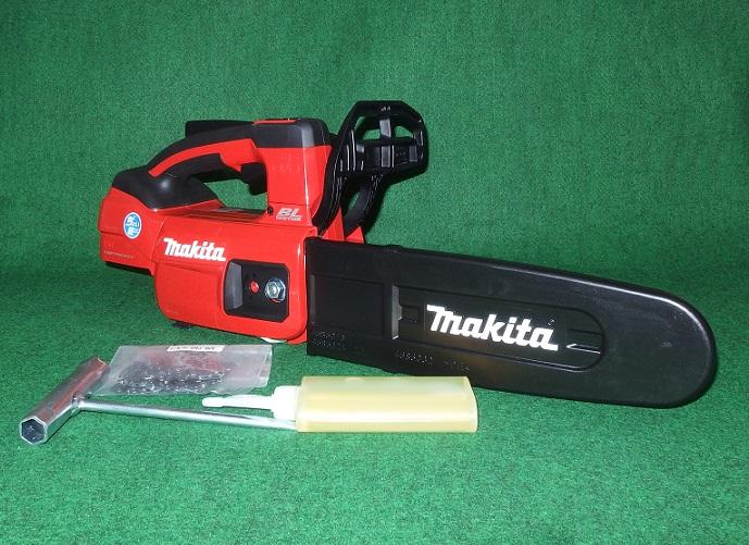 マキタ MUC254DZNR 18V-250mm ちょい軽 充電式チェーンソー M11専用薄型スプロケットノ-ズバ-仕様 赤 本体のみ バッテリ・充電器別売 新品