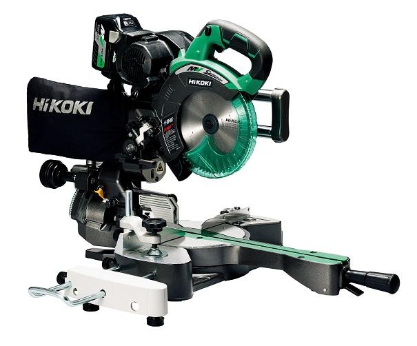 HiKOKI C3607DRA(NN) マルチボルト レーザーマーカ付 190mmコードレス卓上スライドマルノコ 蓄電池・充電器別売 新品 代引便不可 C3607DRA NN ハイコ-キ 日立