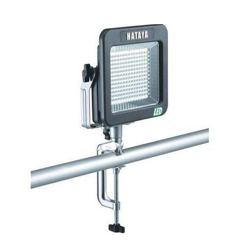 ハタヤ LWK-10V 屋外用充電式LEDケイ・ライト バイス付アームセットタイプ 10W 新品