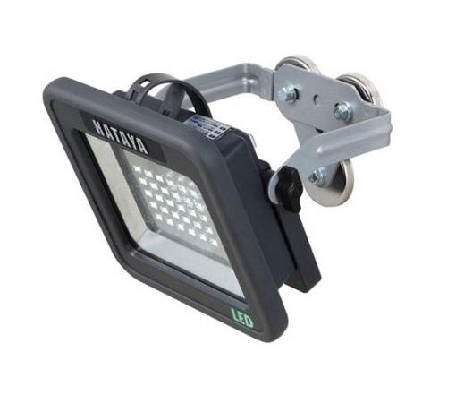 ハタヤ LWK-15M 屋外用充電式LEDケイ・ライト プラス アームタイプ 15W 新品