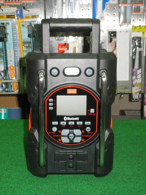 マックス AJ-RD431 Blutooth対応 14.4V充電式ラジオ タフデイオ バッテリ・充電器別売 新品 MAX