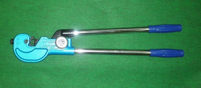 ロブテックス 裸端圧着端子・裸圧着スリ-ブ用 強力圧着工具 AK100 新品