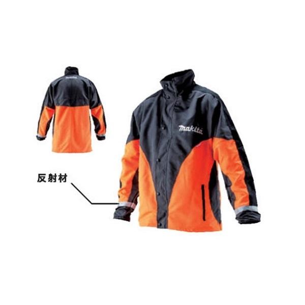 マキタ A-67583 チェーンソー用 ワ-キングジャケット Mサイズ 高視認タイプ 防護機能なし 新品 A67583 林業 園芸 土木 解体
