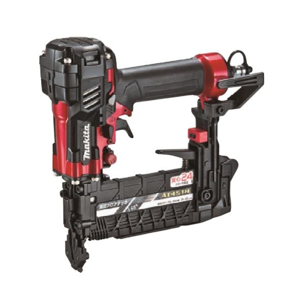 マキタ AT451H 高圧4mm幅フロア用タッカ エアダスタ付 赤 新品