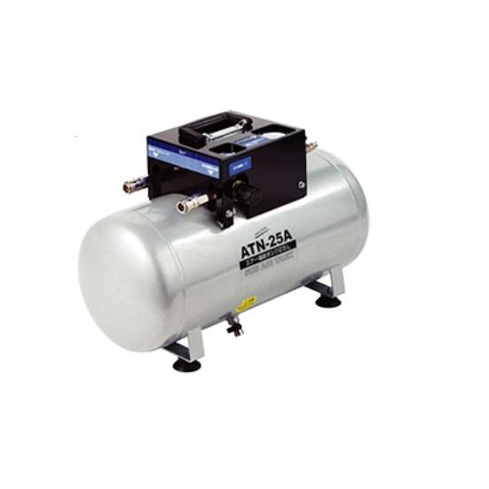 ナカトミ ATN-25A エア-補助タンク 一般圧用 タンク容量25L 取出口2口 圧力調整付 新品 エアタンク ATN25A