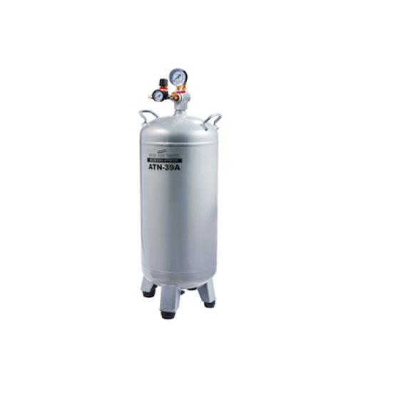ナカトミ ATN-39A エア-補助タンク 一般圧用 タンク容量39L 取出口1口 圧力調整付 新品 エアタンク 代引き不可 ATN39A