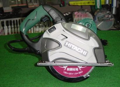 日立 CD7SA 180/185mm鉄工用チップソーカッター チップソー付 新品
