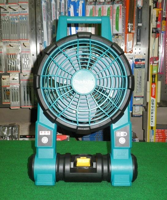 マキタ CF201DZ+BL1860B+DC18SD 充電式ファン 扇風機 バッテリ 充電器付セット 新品