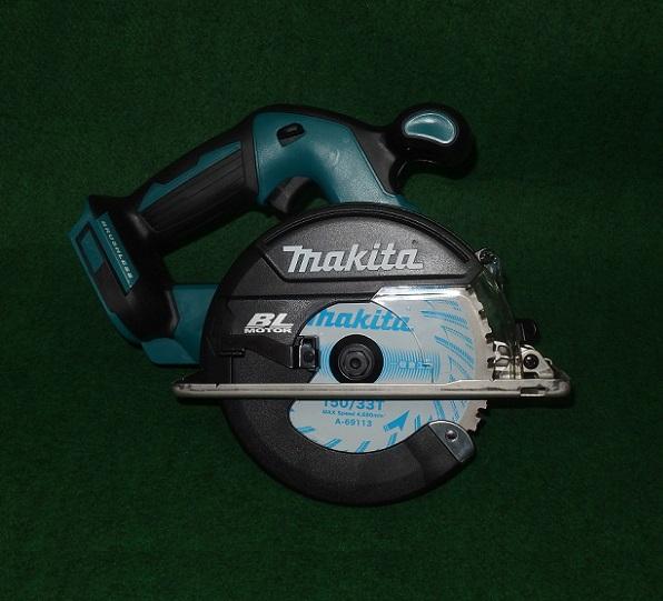 マキタ CS551DZS 18V-150mmチップソーカッタ DCホワイトメタルチップソ-付 本体のみ バッテリ・充電器別売 新品 CS551