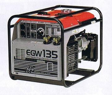 新ダイワ EGW135 エンジン発電機兼用 溶接機 新品 小型・軽量 やまびこ 一部地域発送不可 代引き不可