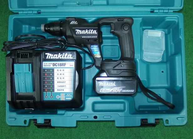 マキタ FS600DRGB 18V充電式スクリュードライバ 回転数6000min-1 黒 6.0Ah 新品