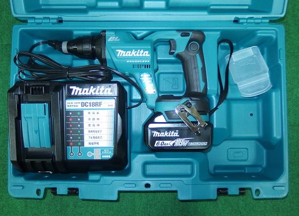 マキタ FS600DRG 18V充電式スクリュードライバ 回転数6000min-1 青 6.0Ah 新品