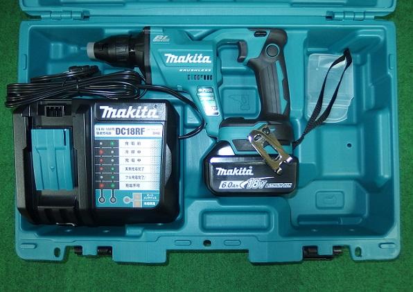 マキタ FS455DRG 18V充電式スクリュードライバ 回転数4500min-1 青 6.0Ah 新品
