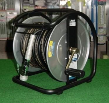 マッハ GHD-630C 高圧用スーパ-スムージ-ホース付C型ドラム φ6x30m 黒 新品 GHD630C フジマック
