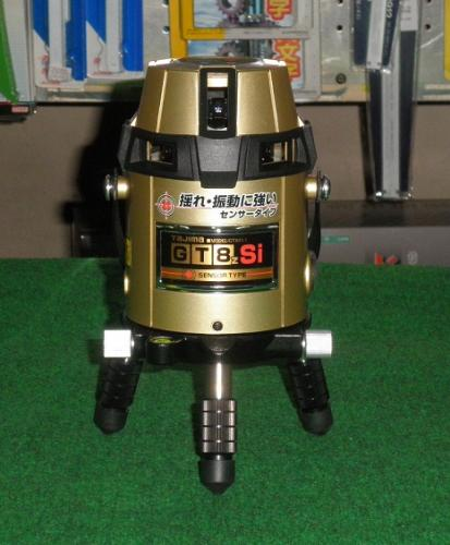 送料無料 タジマ GT8ZSI SET フルラインセンサー レーザー 受光器・エレベーター三脚付セット 新品 送料無料 一部地域除く 代引き不可 ZEROS-KJC 相当品