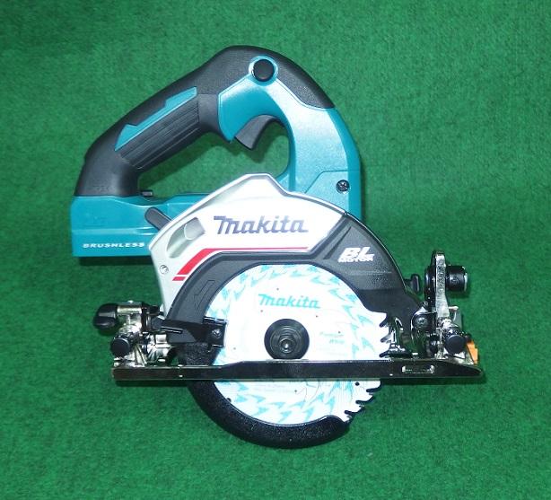 マキタ HS475DZ 18V-125mm 無線連動対応充電式ブラシレスマルノコ サメ肌チップソ-付 青 本体のみ バッテリ・充電器別売 ハイパワ- 新品