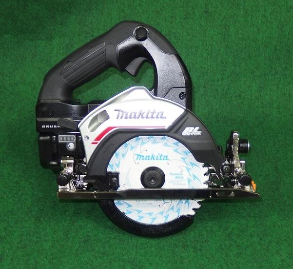 マキタ HS474DRGB 18V-6.0Ah-125mm充電式ブラシレスマルノコ サメ肌チップソ-付 黒 ハイパワ- 新品