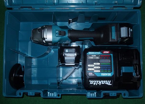 マキタ GA001GRDX 40Vmax-100mm充電式ディスクグラインダ スライドスイッチタイプ 新品