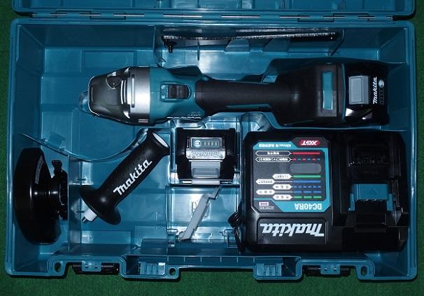 道具・工具・園芸用品プロショップ!全品安心保証付! マキタ GA002GRDX 40Vmax-125mm充電式ディスクグラインダ スライドスイッチタイプ 新品