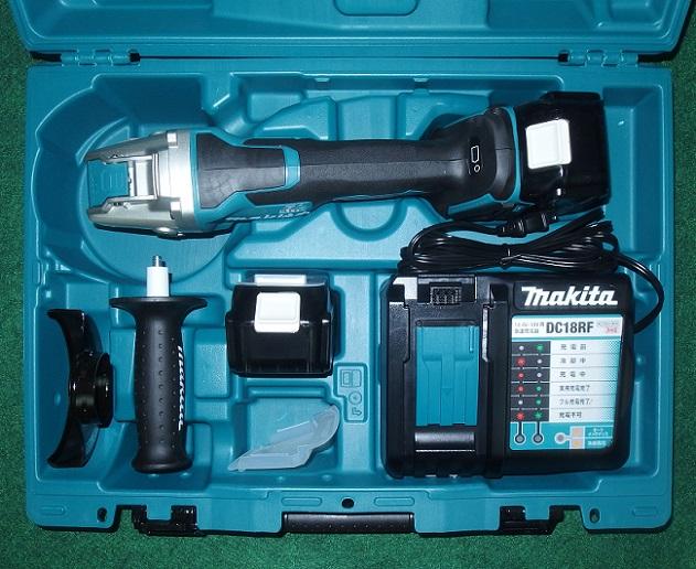 マキタ GA520DRGX 18V-125mm充電式ディスクグラインダ パドルスイッチ+式 X-LOCK 手軽さと安全性を追求 新品 XLOCK