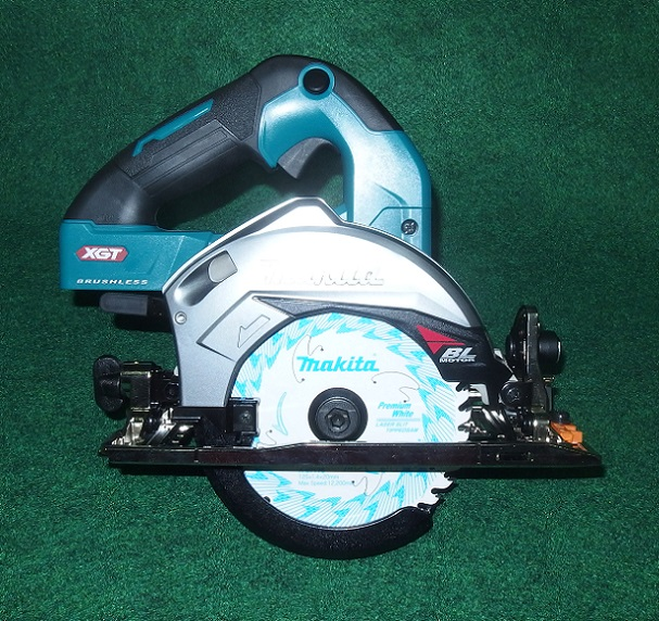 マキタ HS007GZ 40V max-125mm充電式ブラシレスマルノコ サメ肌チップソー付 一般べ-スタイプ 無線連動非対応 本体のみ 青 新品