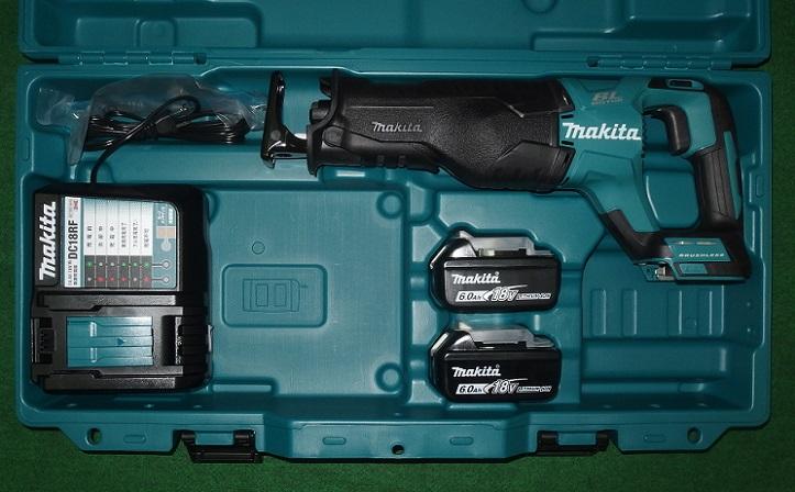 マキタ JR187DRGX 18V-6.0Ah充電式ブラシレスレシプロソー 予備電池付セット 新品