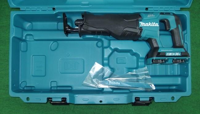 マキタ JR360DZK 18VX2=36V充電式レシプロソ- 本体+ケ-ス 新品
