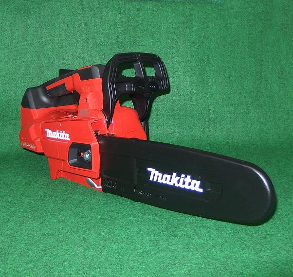 マキタ MUC256DZFR 18Vx2=36V 250mm充電式チェーンソー トップハンドル型 スプロケットノ-ズバ-仕様 25AP仕様 赤 本体のみ バッテリ・充電器別売 新品