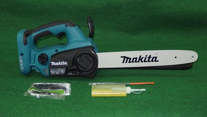 マキタ MUC352DZ 18Vx2=36V 350mm充電式チェーンソー バッテリ・充電器別売 91PXチェ-ン刃付 青 新品