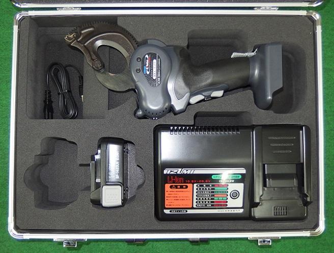 泉精器 REC-Li33 軽量 充電式ケーブルカッタ CV325mm2を楽々切断 Eroboシリ-ズ 新品 RECLi33
