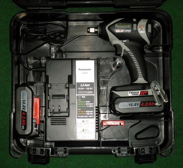 パナソニック EZ75A3LS2F-H 14.4V-4.2Ah Cバネ付デュアルインパクトレンチ グレー 新品