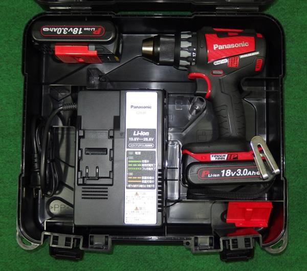 パナソニック EZ74A2PN2G-R 18V-3.0Ahデュアルドリルドライバー 赤 新品