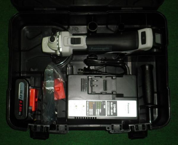 パナソニック EZ46A1LS2F-H 14.4V充電ディスクグラインダ グレー 新品