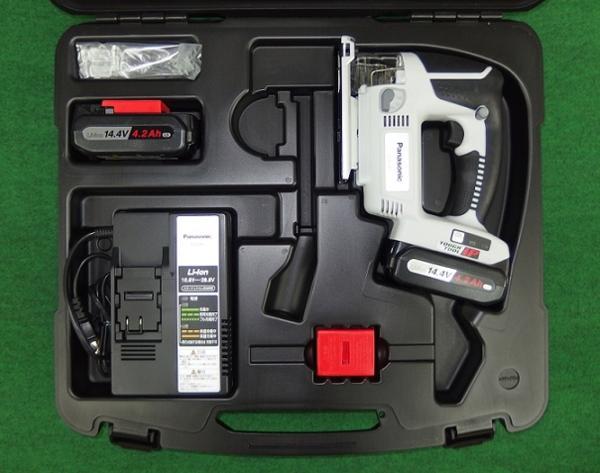 パナソニック EZ4541LS2S-B 14.4V充電式ジグソー 予備電池付 新品