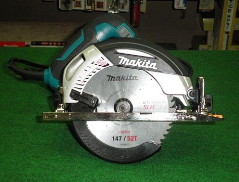 マキタ 5332 147mm厚切り電子マルノコ 切込深さ57mm AC100V 青 チップソー付 新品