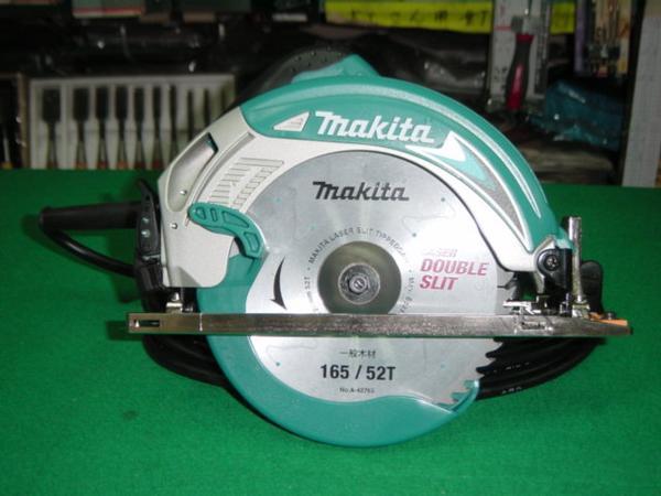 マキタ 5637BA 165mm電気マルノコ アルミべ-ス 切込深さ57mm LEDライト・通電ランプ付 AC100V チップソー付 新品