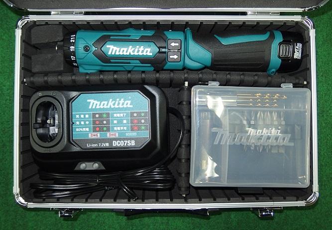マキタ DF012DSH 7.2V-1.5Ahペン型ドライバドリル 青 新品