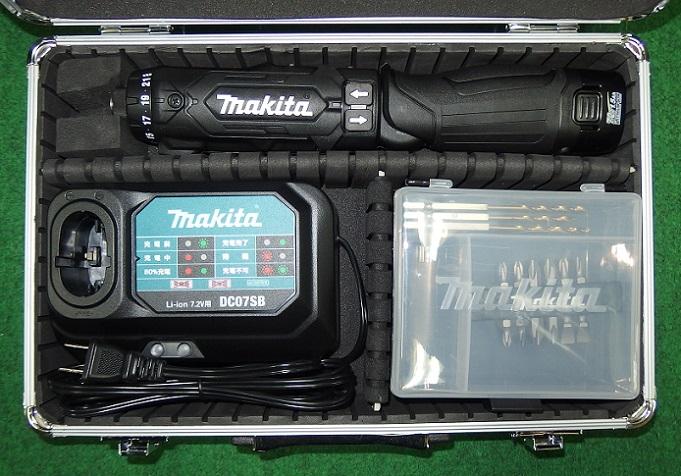 マキタ DF012DSHB 7.2V-1.5Ahペン型ドライバドリル 黒 新品