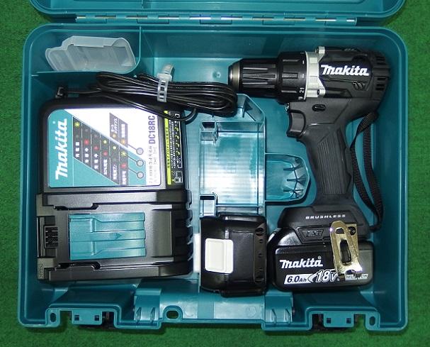 マキタ DF484DRGXB 18V-6.0Ah防塵防滴ブラシレスドライバドリル 黒 新品