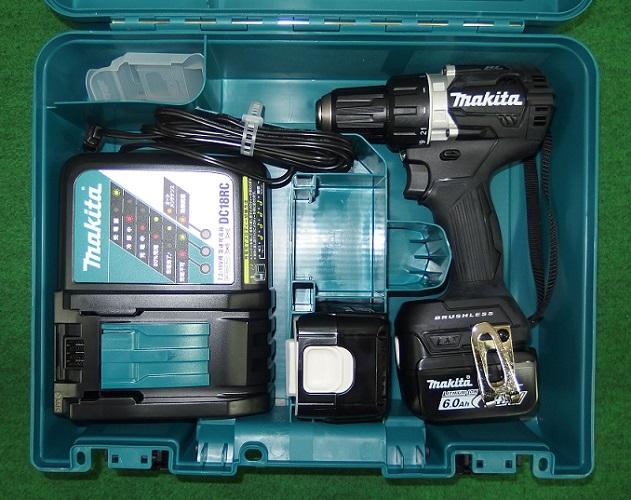 マキタ DF474DRGXB 14.4V-6.0Ah 防塵防滴ブラシレスドライバドリル 黒 新品