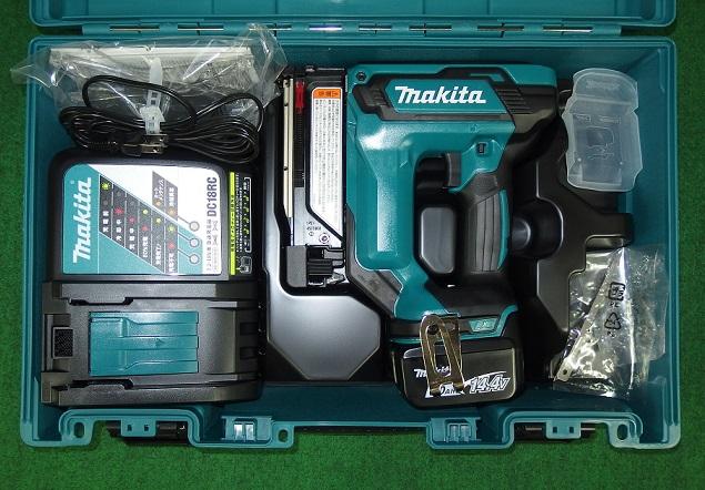 マキタ PT352DRG 14.4V-6.0Ah充電式ピンタッカ 新品
