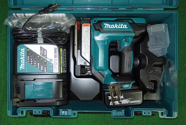 マキタ PT353DRG 18V-6.0ah充電式ピンタッカ 新品