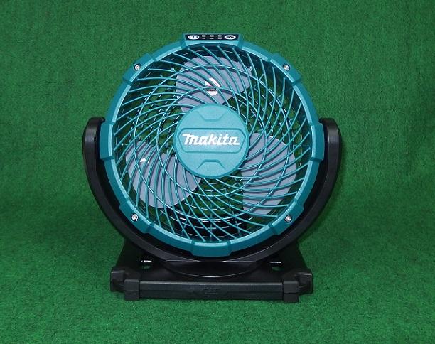 マキタ CF100DZ+BL1015+DC10SA 10.8Vスライド式バッテリ対応 充電式ファン バッテリ・充電器付セット 新品 扇風機